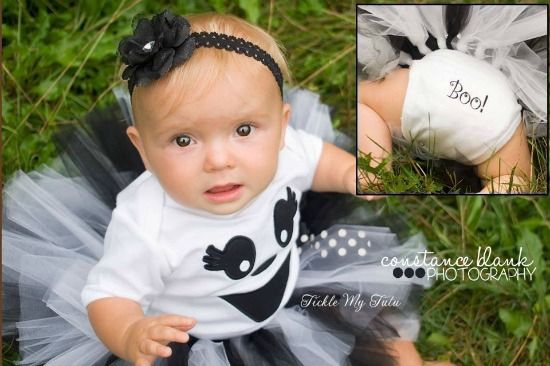 Greta the Ghost Halloween Tutu Costume
