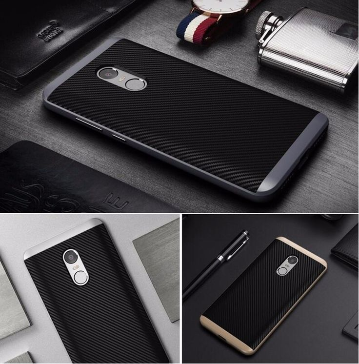 UCASE Hybrid Silicone+PC Frame Protective Case For Xiaomi Redmi Note 4X/Redmi Note 4 Global Edition
