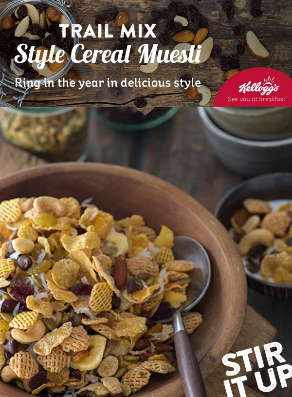 9 best new year new breakfast images on pinterest cereal this year let your bowl hit the trails on an exciting new breakfast adventure in a medium bowl combine kelloggs frosted flakes kelloggs corn flakes ccuart Image collections