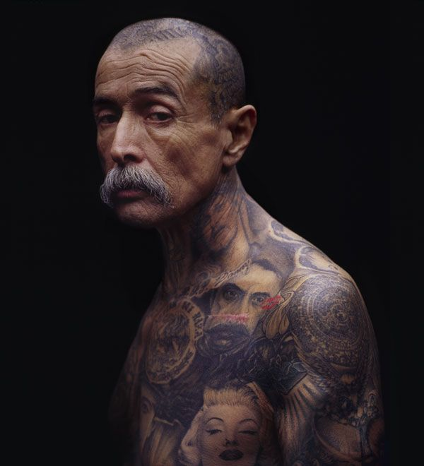 Old man tatoos