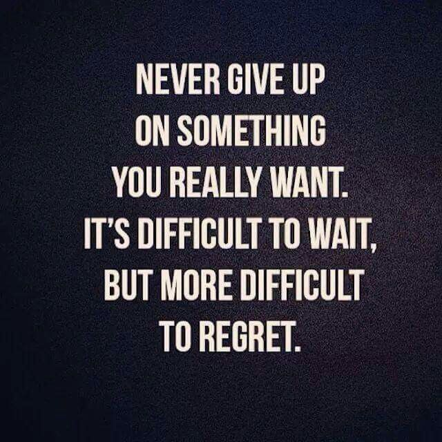 Never Give Up Quote Pic: Best 25+ Never Give Up Ideas On Pinterest