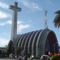 Church of Chillan Chile