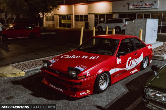 In The Shadows Of The Neon City Toyota Corolla Jdm Ae86