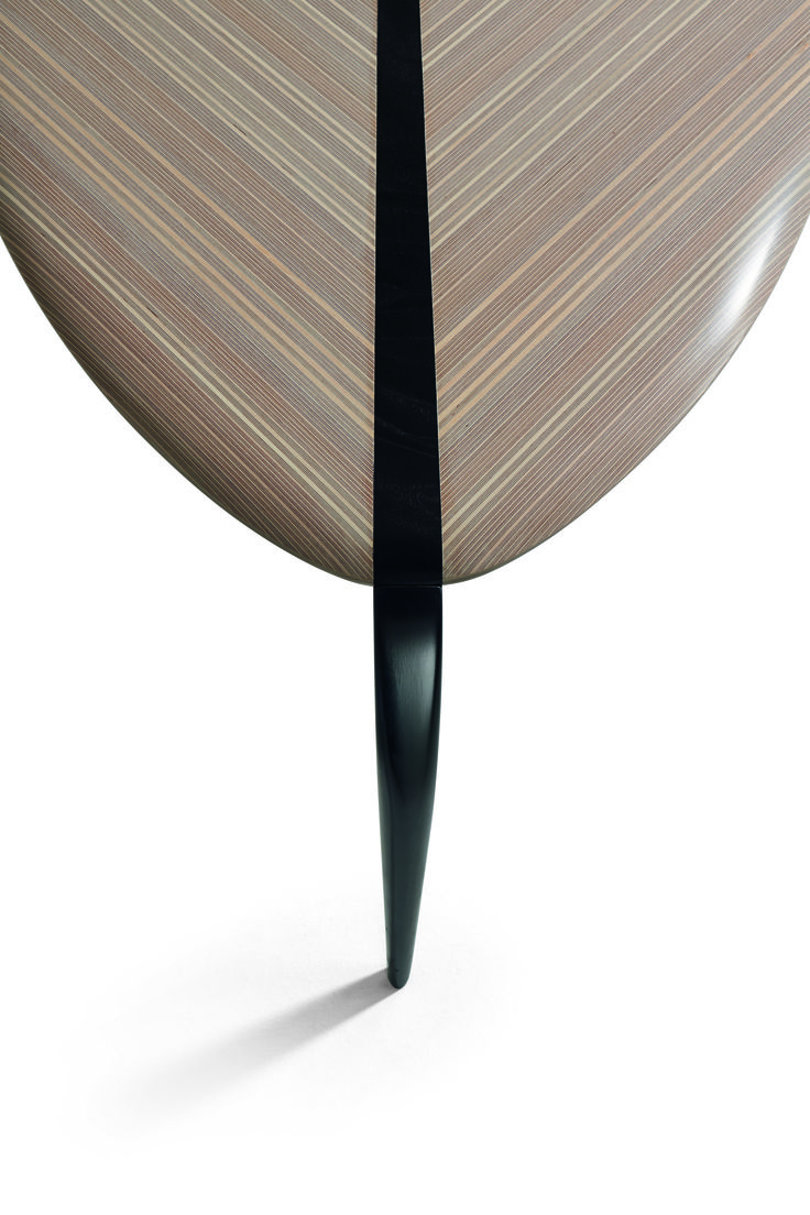 """The """"Bird"""" side table is a project that symbolises Wirkkala's natural and organic poetry. A sinuous shape, at the same time simple yet abstract, the piece is inspired by the silhouette of a bird, a recurring theme in Wirkkala's work as a sculptor and designer, along with shells, ice and leaves.    Discover more on: http://poltronafrau.com/en/catalogue/icons/bird"""