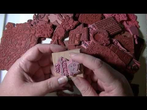 Unmounting Wood Mount Rubber Stamps - YouTube options given
