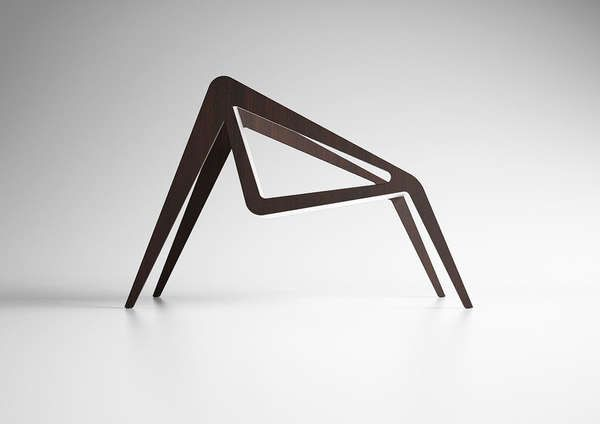 The Arachnide Chair by Studioforma is Inspired by a Spider trendhunter.com