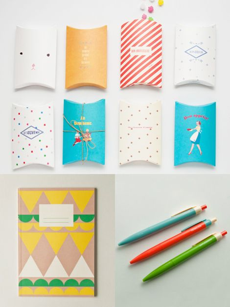 I don't know why, I can't explain it, but looking at cute little packages makes me giddy