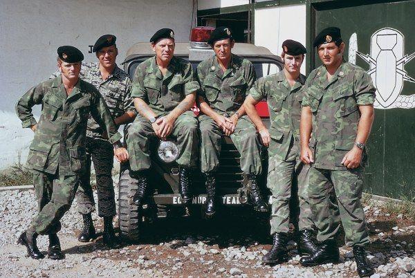 8th Team. ABCD Brian Furner, ABCD Tony Ey, Lt. Jake Linton ...