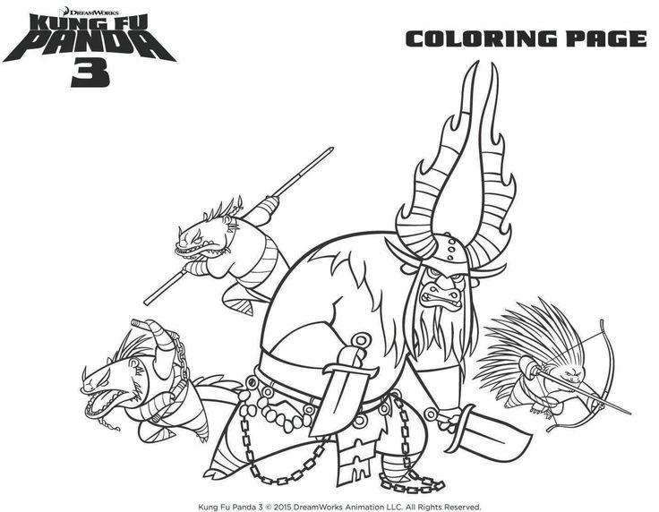 Kung Fu Coloring Pages - Eskayalitim