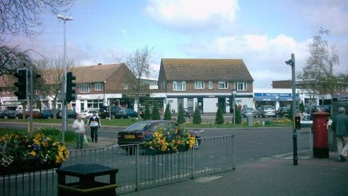 The clocktower at the junction of Ash Lane and The Street, Rustington  Home to Mum and dad,best village