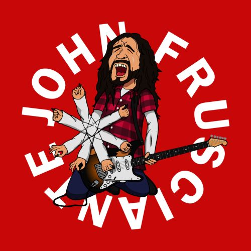 Frusciante fanart shirt rhcp