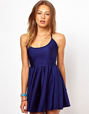ASOS Fashion Finder | American Apparel Tricot Figure Skater Dress