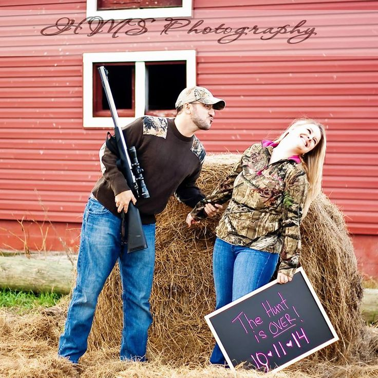 The Hunt Is Over - Camo Engagement Shoot