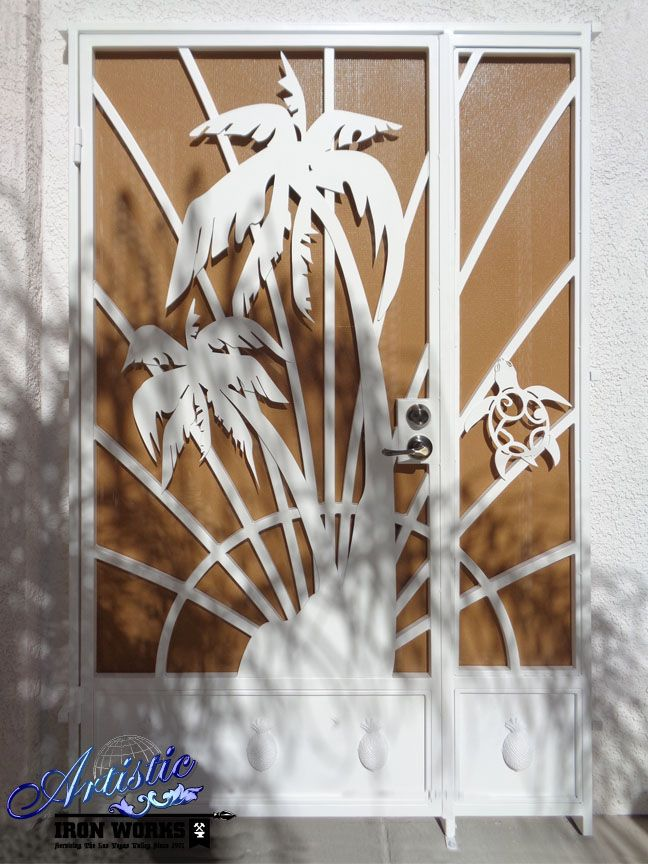 How To Attach Artistic Paintings To Fence