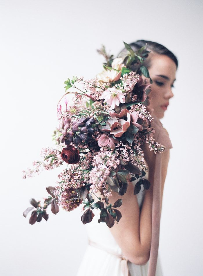 Stunning lavender bouquet by Sarah Winward.