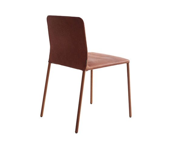 Corbo | leather by more | Visitors chairs / Side chairs