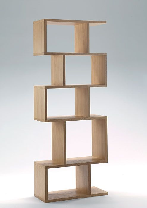 Balance alcove shelving, designed by Terence Conran, Content by Coran Collection.