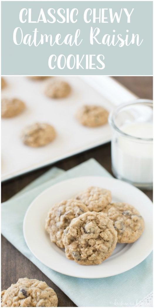 This is the perfect small-batch recipe for classic chewy oatmeal raisin cookies!
