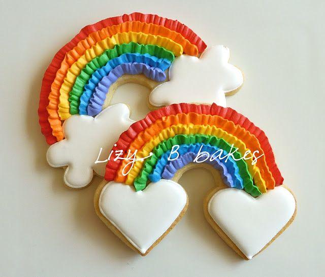 Lizy B: Rainbow Cookie Tutorial