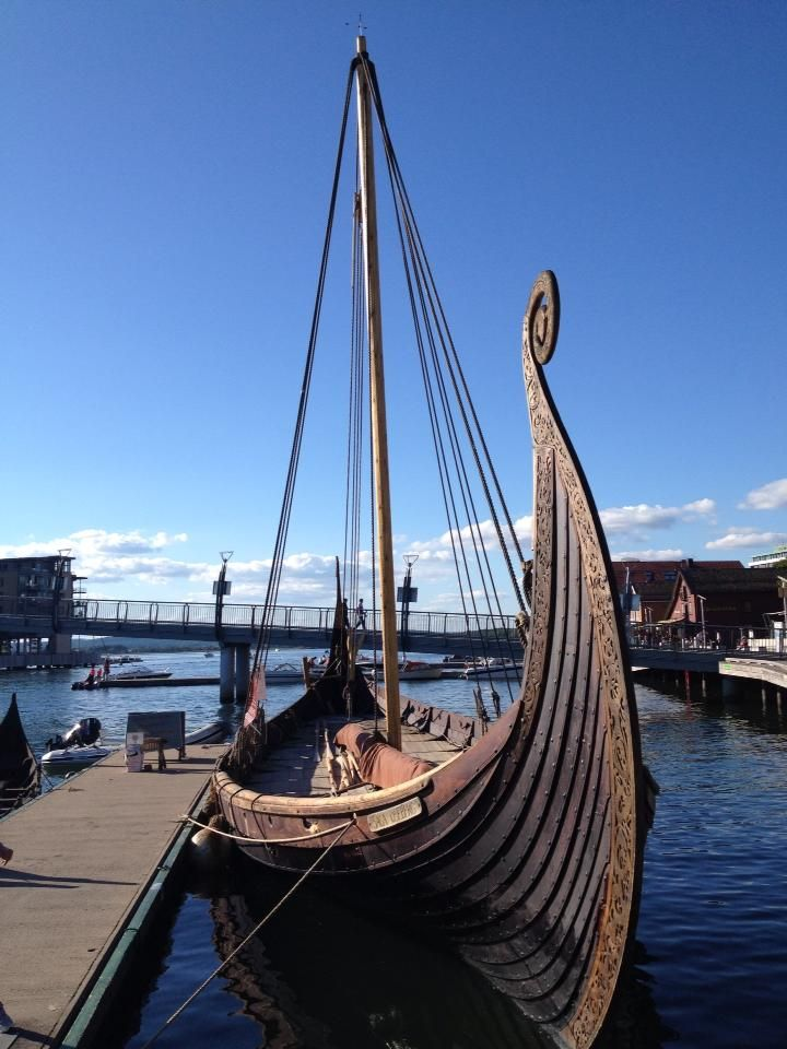 Viking longboat Tonsberg Norway -photo courtesy of Alf Whist