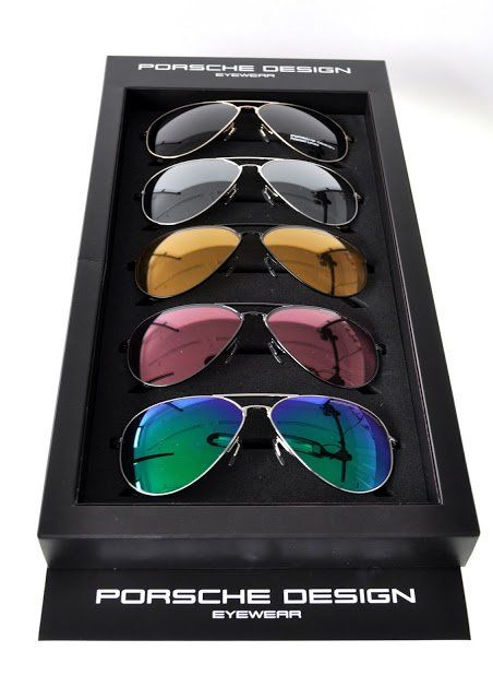 Porsche Design Eyewear. So hard to choose http://www.eyesofnanuet.com