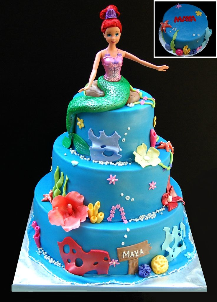 mermaid cake - Google zoeken