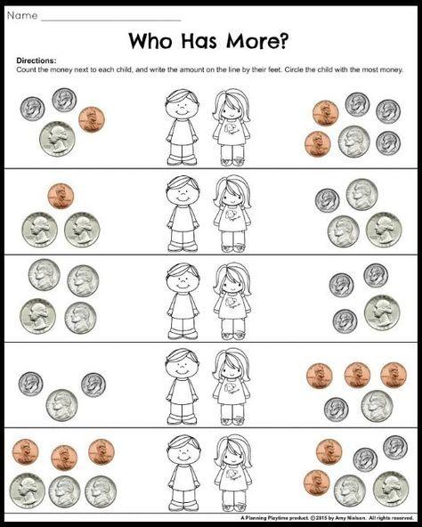 1000+ ideas about Money Worksheets on Pinterest | Teaching money ...