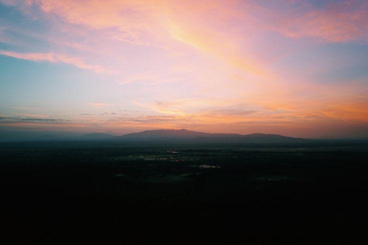 Sunrise in Arusha Tanzania