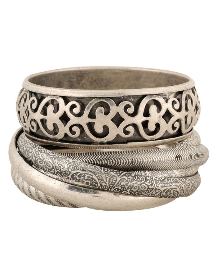 <3Forever 21, Bracelets Sets, Forever21 Com, Bangles Bracelets Braccialetti, Assorted Bracelets, Sets 5 80, Fashion Jewelry, Silver Bangles, Accessories