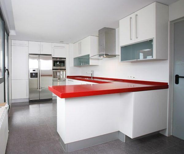 Cocinas integrales blancas images - Imagenes de cocinas empotradas ...