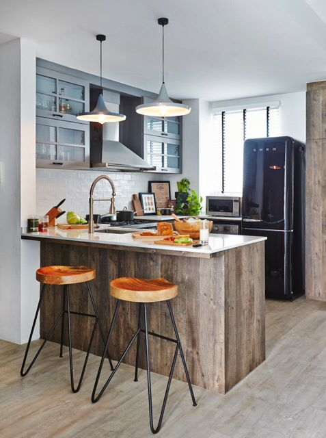 Kitchen with a little bit of style
