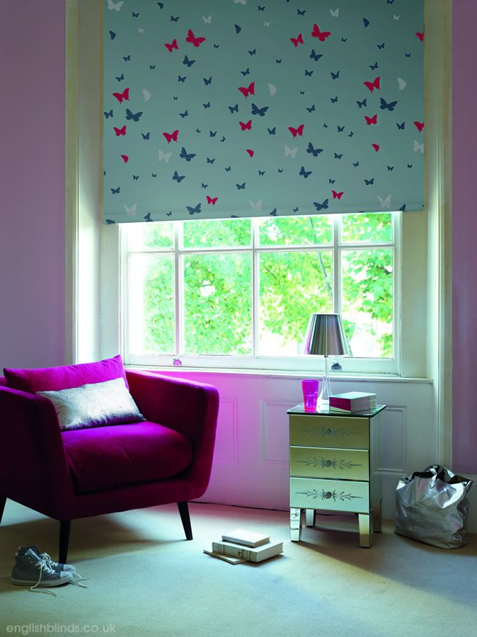 Nursery Blackout Roller Blinds Kids Bedroom Childs Pastoral ...