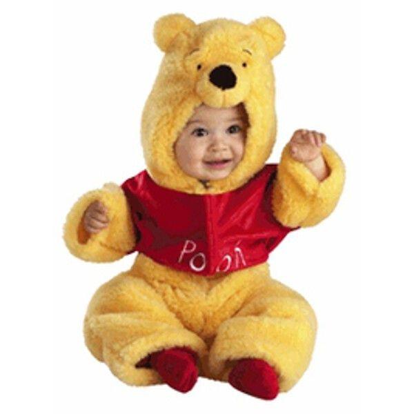 Baby Plush Winnie The Pooh Costume