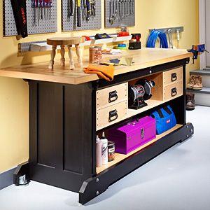 Free Workbench Plans from Workbench Magazine - Woodwork City