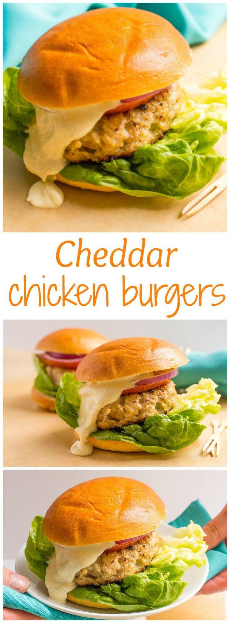 how to make chicken burgers with ground chicken