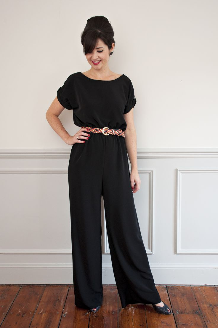 Poppy Playsuit - Sew Over It | The longer leg version is so glamorous!