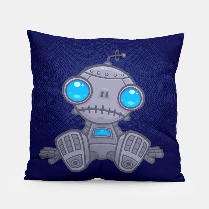 Sad Robot Pillow, Live Heroes