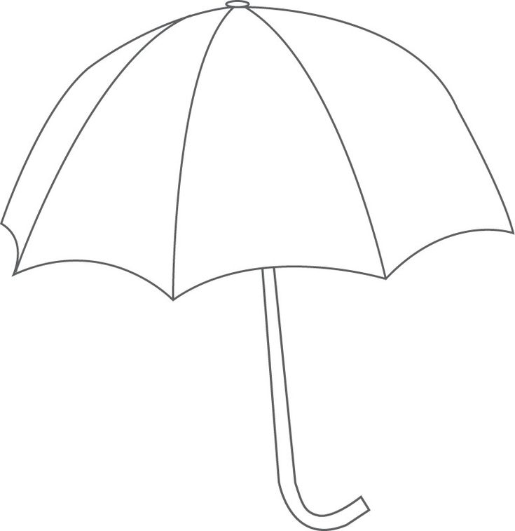 Printable Umbrella Template - Apigram.Com