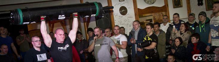 Strongman Jiří Tkadlčík ve spolupráci s General Sport