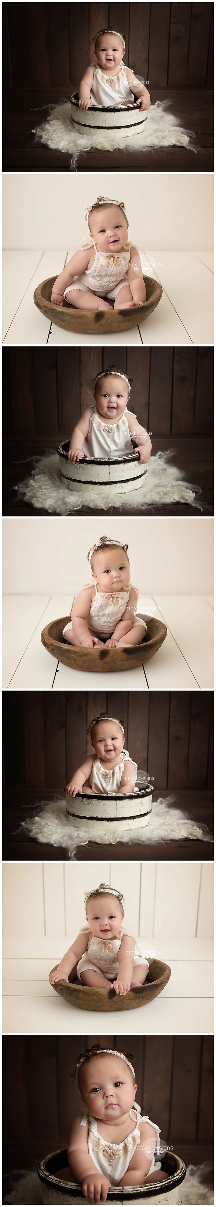 Sitter Session!  Los Angeles Baby Photographer  www.maxineevansphotography.com