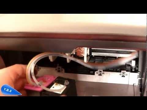 Sistema de tinta continua HP Deskjet 1050A cartuchos 301 - YouTube