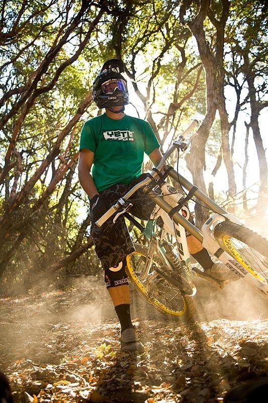 California light. Good trails, good times. Mountain biking MTB bike