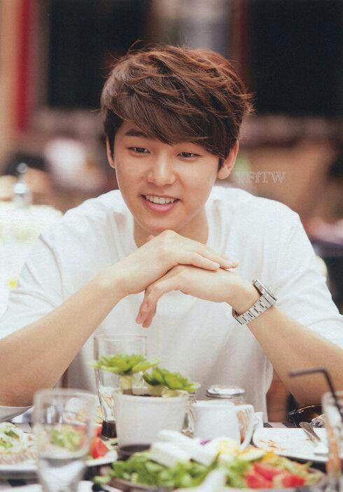 Kang Min Hyuk :)