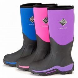 Muck Boots Arctic Sport Mid Womens Snow Boots Purple | Santa