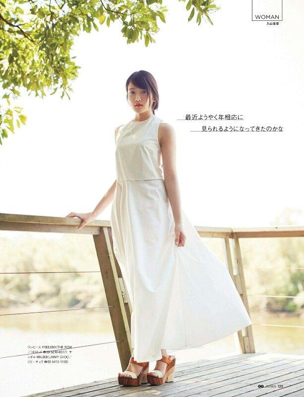 """AKB48 Anna Iriyama """"19sai no Tokubetsu na Natsu"""" on GQ Japan Magazine"""