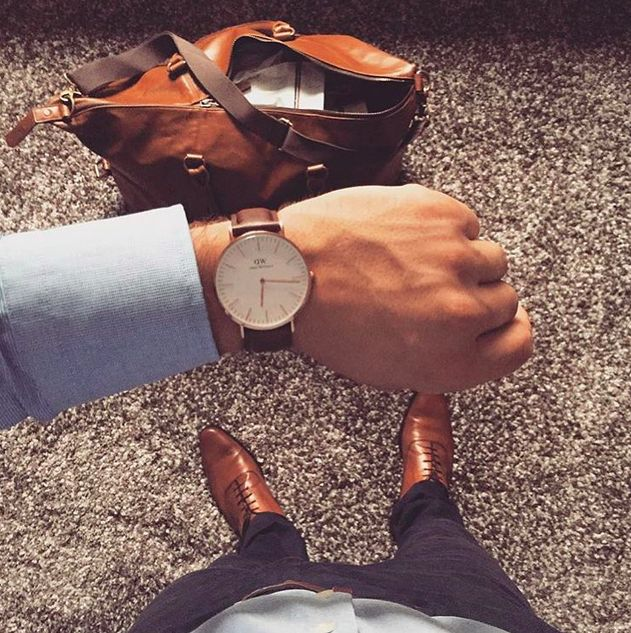 Weekend o´clock Daniel Wellington watches are simple, yet sophisticated