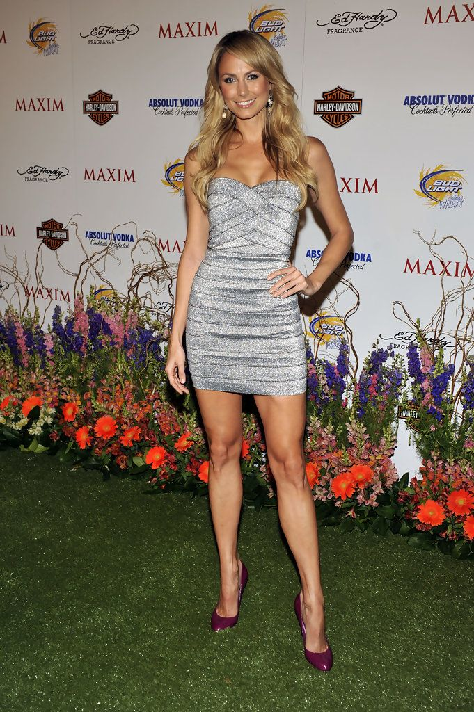 Stacy Keibler In 11th Annual Maxim Hot 100 Party
