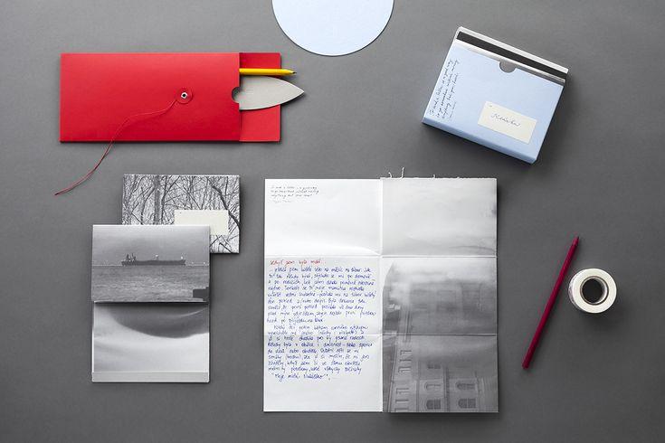 Fotoobálka Korespondenční kolekce carta papelote