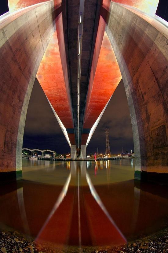 Bolte Bridge, Melbourne, Victoria, Australia.