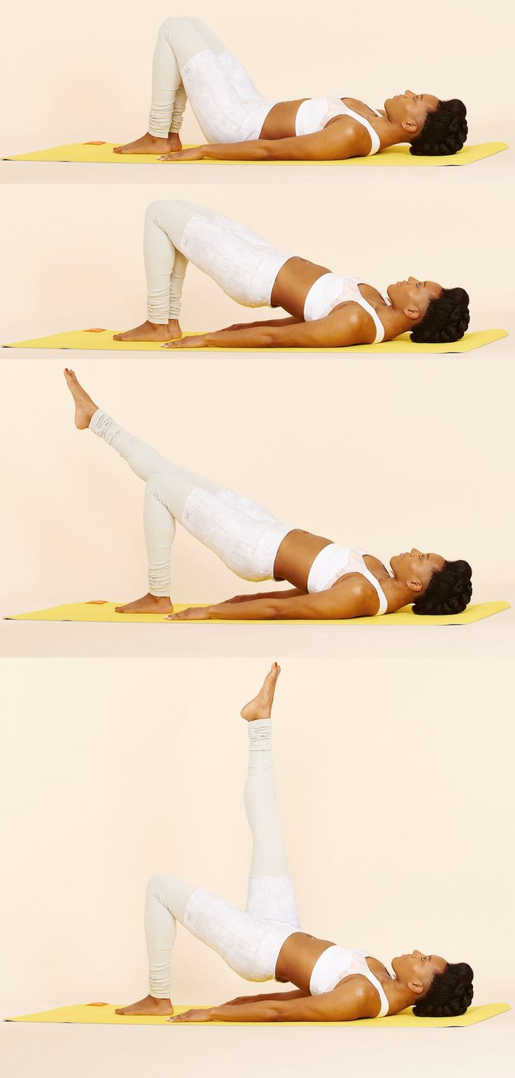 The Best No-Equipment Pilates Moves To Strengthen Your Core #refinery29 http://www.refinery29.com/pilates
